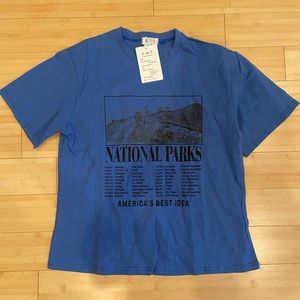 National Parks graphic tee shirt